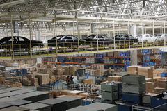 The warehouse Royalty Free Stock Images