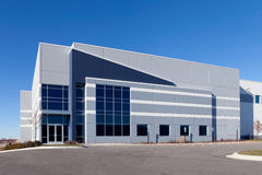 Warehouse Building Royalty Free Stock Images