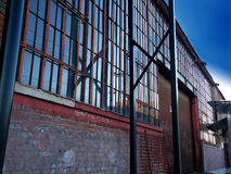 Warehouse building Royalty Free Stock Photos
