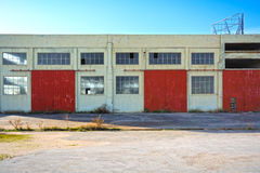 Warehouse buildings Royalty Free Stock Images