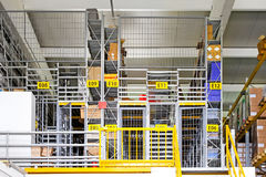 Warehouse cage Stock Image