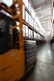 Warehouse cargo handling Stock Photo