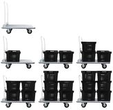 Warehouse cart | Isolated Royalty Free Stock Photos