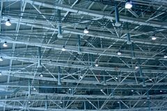Warehouse ceiling Royalty Free Stock Photos