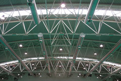 Warehouse Ceiling Interior Stock Image