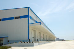 Warehouse in china Royalty Free Stock Images