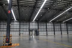 A warehouse is a commercial building for storage of goods. Stock Images