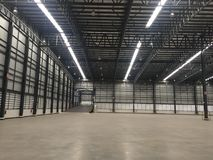 A warehouse is a commercial building for storage of goods. Royalty Free Stock Photography