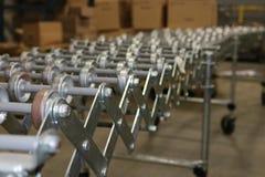 Warehouse conveyor belt stock images