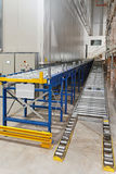 Warehouse conveyor Royalty Free Stock Photography