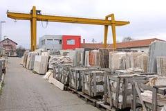 Warehouse crane Royalty Free Stock Image