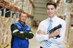 Warehouse crew Stock Photo