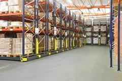 Warehouse de alta densidad Fotografía de archivo libre de regalías