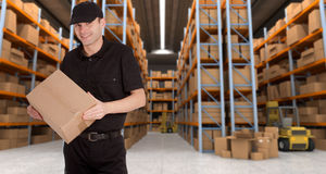 Warehouse delivery a Royalty Free Stock Images
