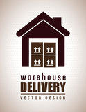 Warehouse Delivery Royalty Free Stock Photo