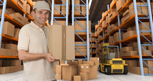 Warehouse delivery k Royalty Free Stock Images