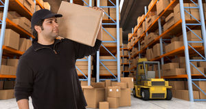 Warehouse delivery n Stock Photography