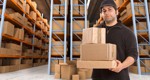 Warehouse delivery o Stock Photo