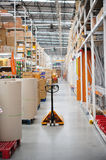Warehouse distribution center. Store Shop royalty free stock photography