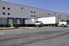 Warehouse docks royalty free stock images