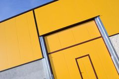 Warehouse door Royalty Free Stock Photo