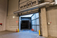 Free Warehouse Door Or Gate And Truck Container Stock Photography - 66781892