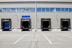 Warehouse doors Royalty Free Stock Photography