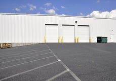 Warehouse doors royalty free stock photos
