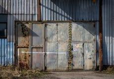 Warehouse doors Royalty Free Stock Photography