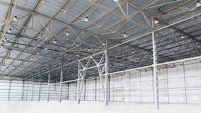 Warehouse, empty Royalty Free Stock Photography