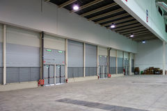 Warehouse Empty Space Interior Stock Images
