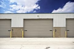 Warehouse Entrance Royalty Free Stock Image