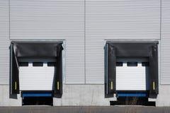 Warehouse entrance royalty free stock image