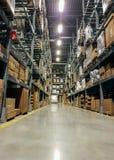 Warehouse expedición de la logística y de la carga Foto de archivo libre de regalías
