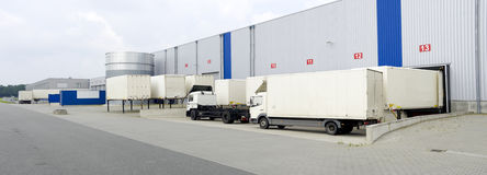 Warehouse exterior Stock Image