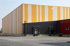 Warehouse exterior Stock Image