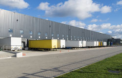 Warehouse exterior Stock Photo
