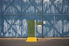 Warehouse exterior. Royalty Free Stock Images