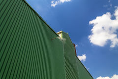 Warehouse exterior Stock Photography