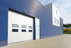 Warehouse exterior Royalty Free Stock Photography