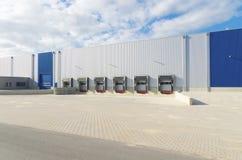 Warehouse exterior Stock Photos