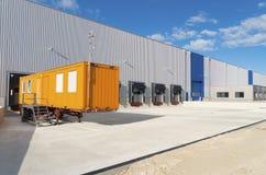 Warehouse exterior Royalty Free Stock Image