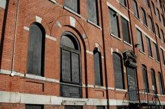 Warehouse facade Stock Photo