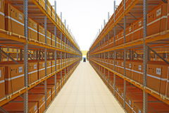 Warehouse Royalty Free Stock Photography