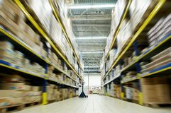 Warehouse food depot Stock Image