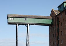 Warehouse Gantry Stock Image