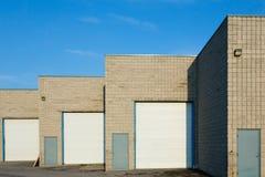 Warehouse Gates Stock Image