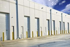 Warehouse Gates Royalty Free Stock Image