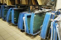 Warehouse glasses stock photos