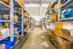 In warehouse Royalty Free Stock Images
